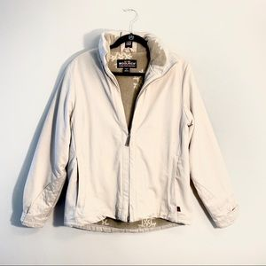 WOOLRICH   British Tan lined Winter Coat